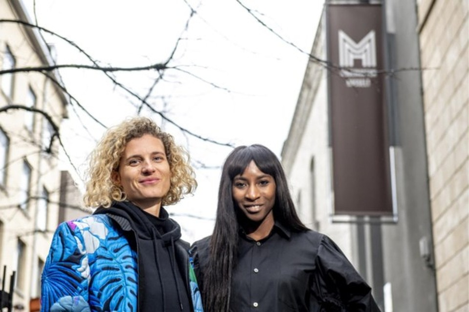 Elodie Ouedraogo en Olivia Borlée cureren later dit jaar ook een modetentoonstelling in Hasselt
