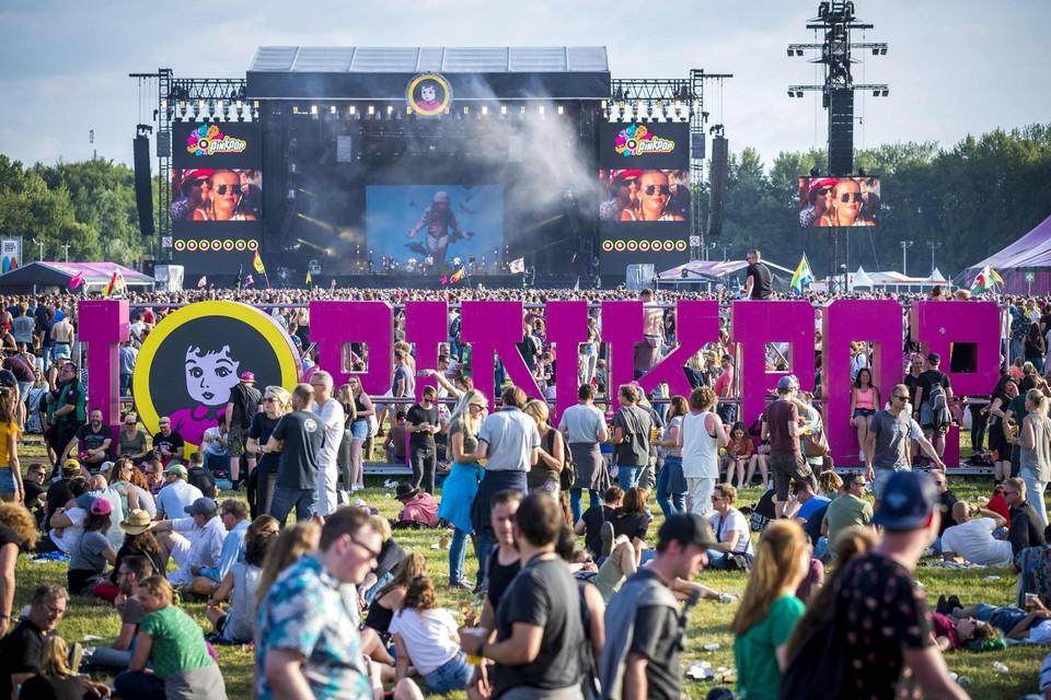 Pinkpop in 2018.