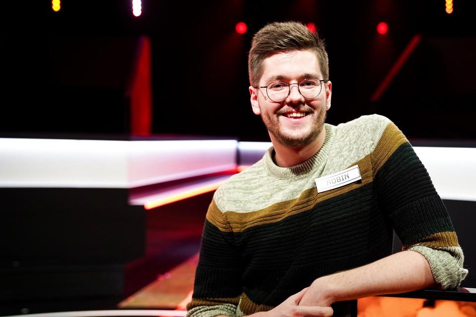 Gentenaar Robin De Clercq won donderdag de Eén-quiz '1 Jaar Gratis' en ging zo naar huis met 68.887 euro.