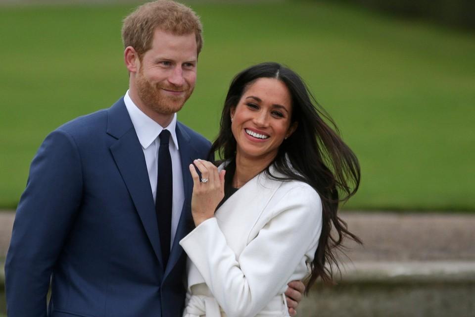 Prins Harry en Meghan Markle in betere tijden