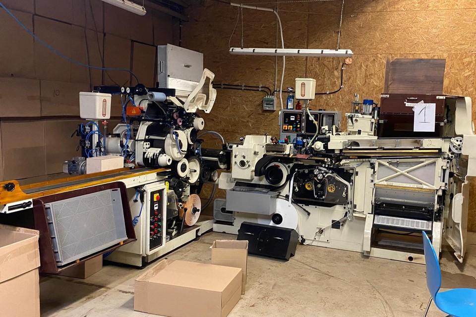 De installaties van de productiesite in Tongeren.