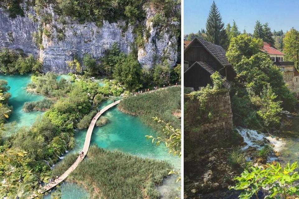 Plitvice en het idyllische watermolendorpje Rastoke.