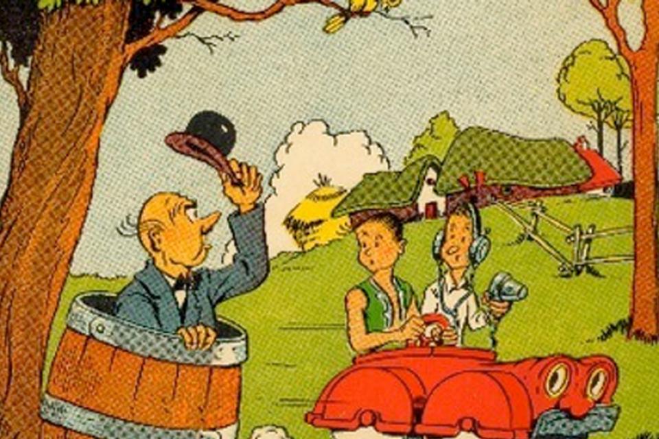 1946: Suske en Wiske ontmoeten Lambik in De Sprietatoom