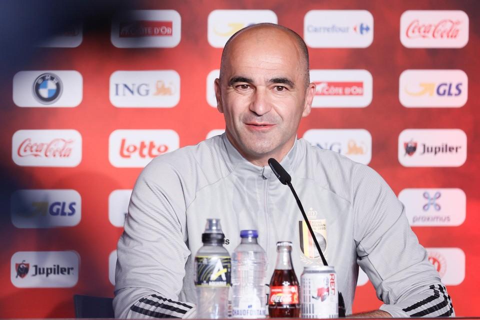 Roberto Martinez' gezicht klaarde op toen hij over Eden Hazard mocht spreken.