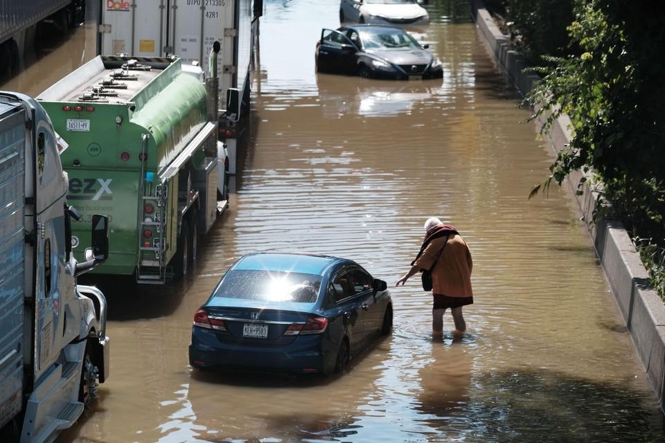Uitlopers van tropische storm Ida veroorzaakten overstromingen in New York
