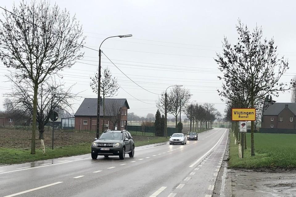 De trajectcontrole komt er op de verbindingsweg tussen Riemst en Bilzen.