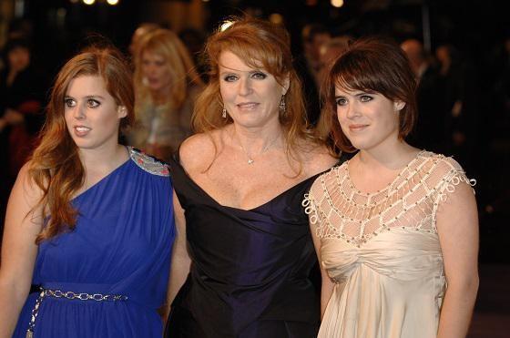 Sarah Ferguson is ook de moeder van prinsessen Beatrice en Eugenie.