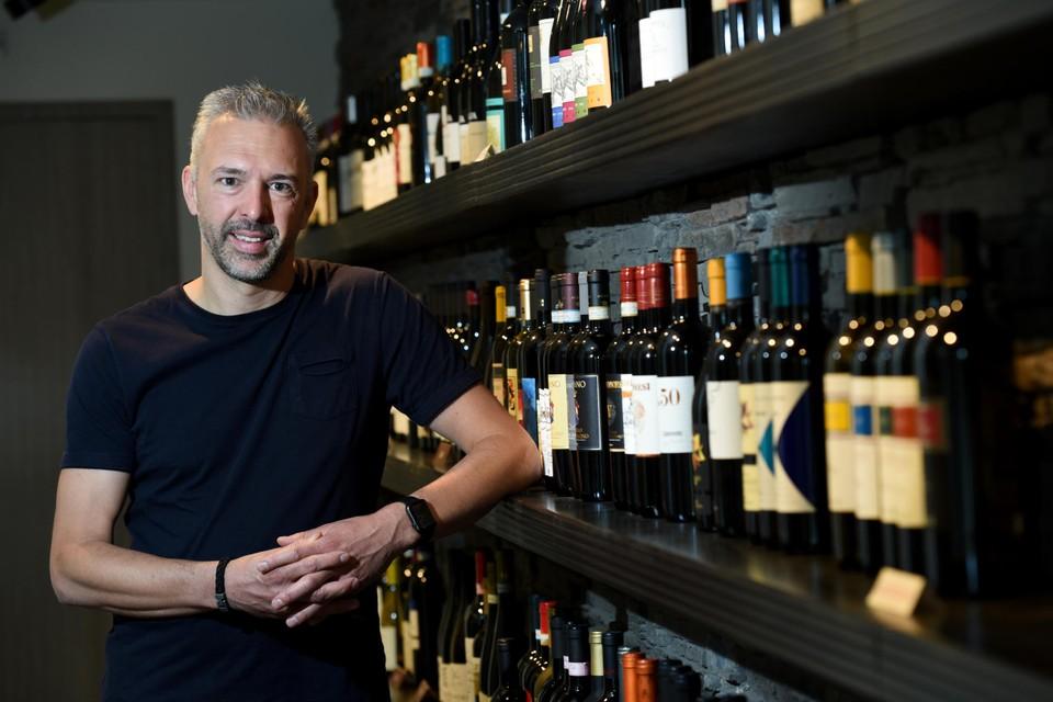 """Zaakvoerder Laurent Licata van Licata Vini: """"Mijn vader heeft het bedrijf snel kunnen loslaten."""""""