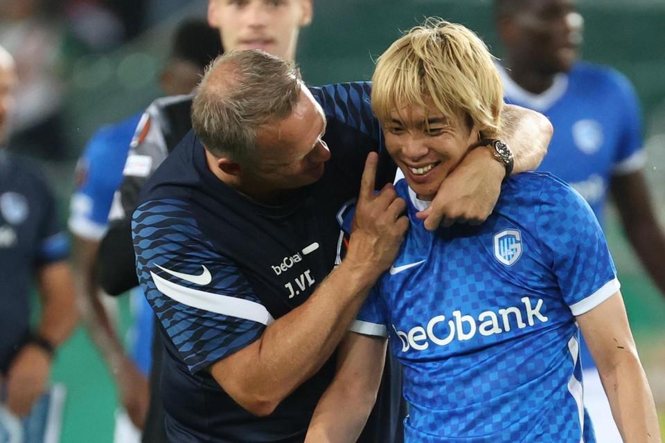 Van den Brom met Ito.