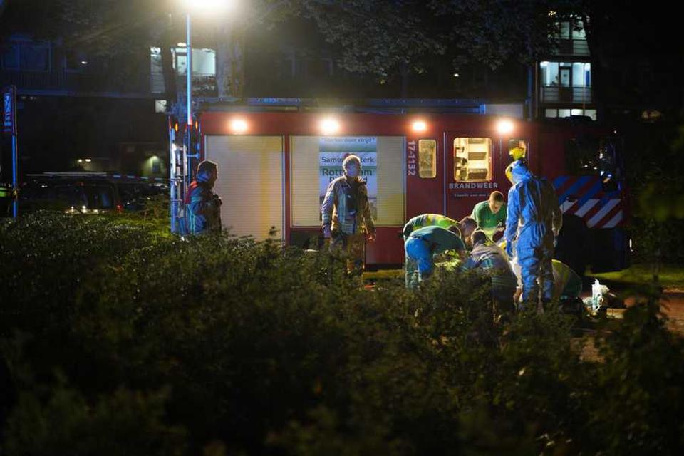 Het slachtoffer werd geraakt door meerdere kogels