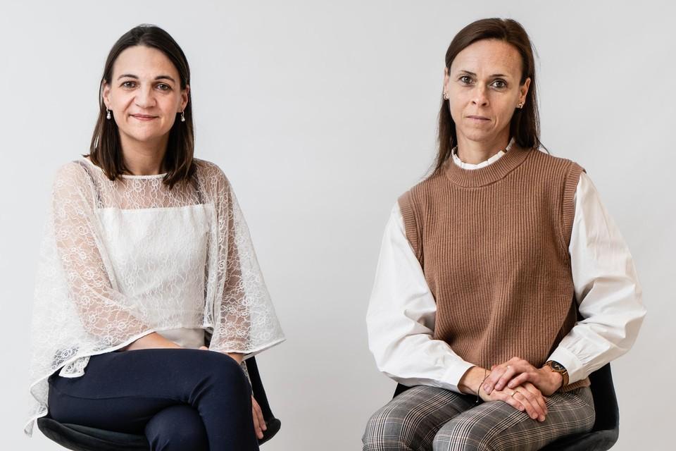 Moïra Mikolajczak en Isabelle Roskam.