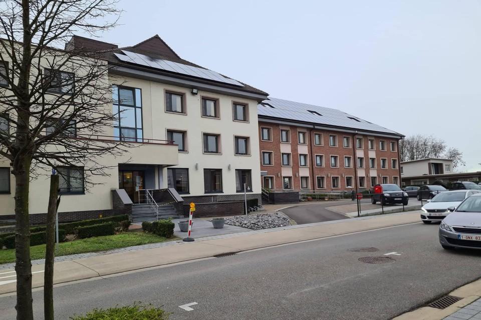 Het woon-zorgcentrum O.L.V. van Lourdes in Zoutleeuw is zwaar getroffen door corona.