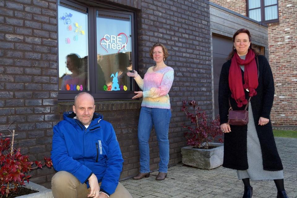 De paasactie van vijf creatieve Heerse ondernemers ten voordele van kansarme kinderen kende heel wat bijval.