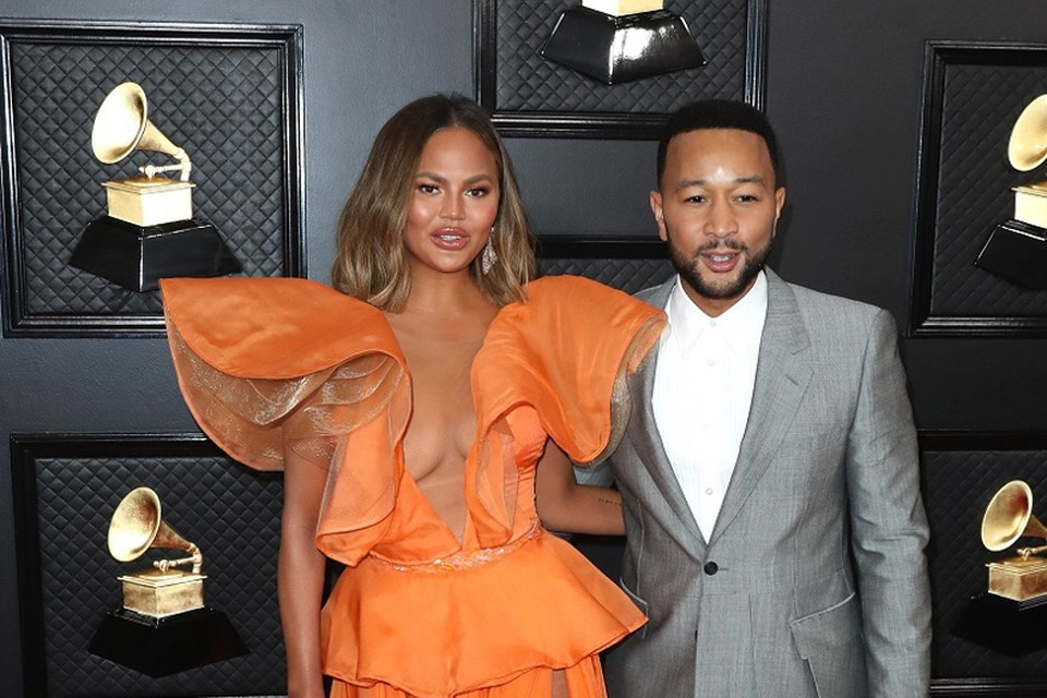 Chrissy Teigen en John Legend
