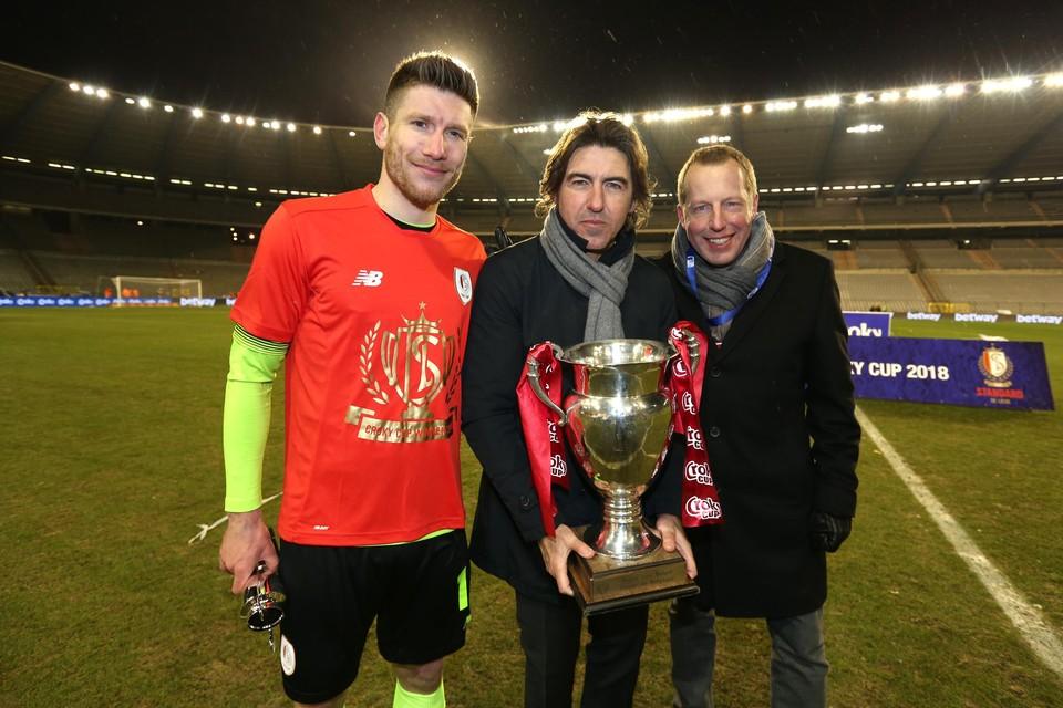Pocognoli won in 2018 met Standard de finale van de Croky Cup tegen zijn ex-club KRC Genk.