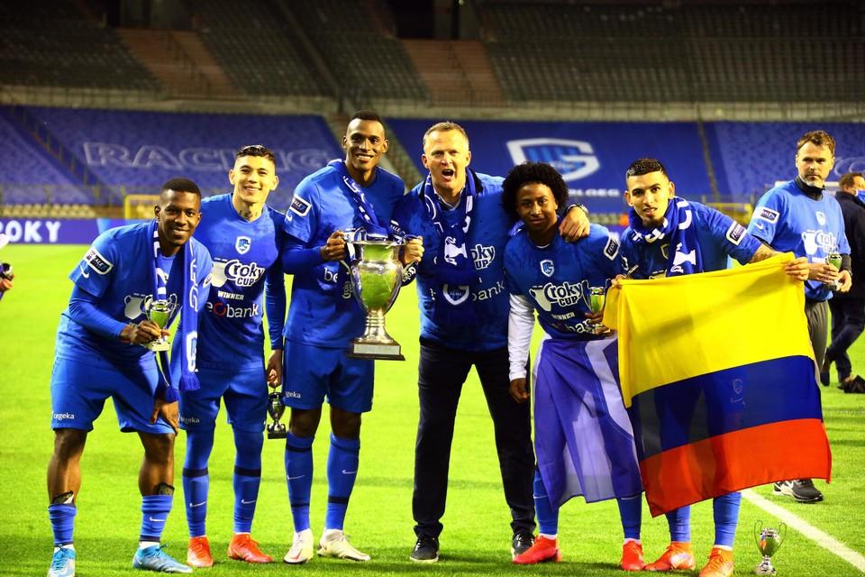 Cuesta (links) en Munoz (rechts): opgeroepen voor Colombia.