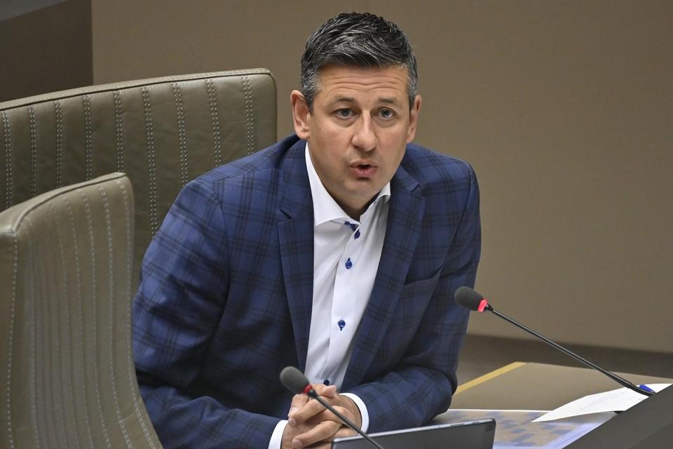 Chris Janssens (Vlaams Belang) is ondervoorzitter van de onderzoekscommissie naar de PFOS-vervuiling.