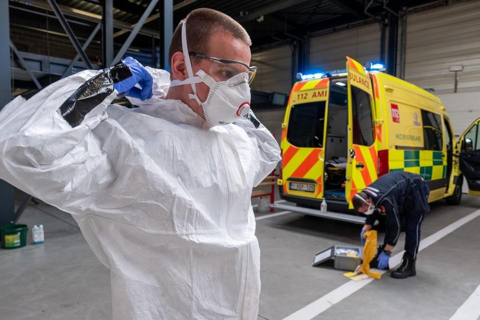 De FFP2-maskers waren tot 23 juni voorbehouden voor de zorg.