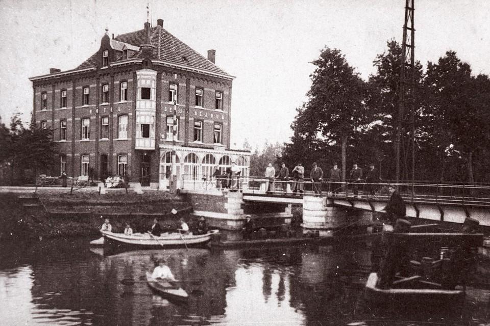 Hôtel Beau Séjour in de jaren 20.