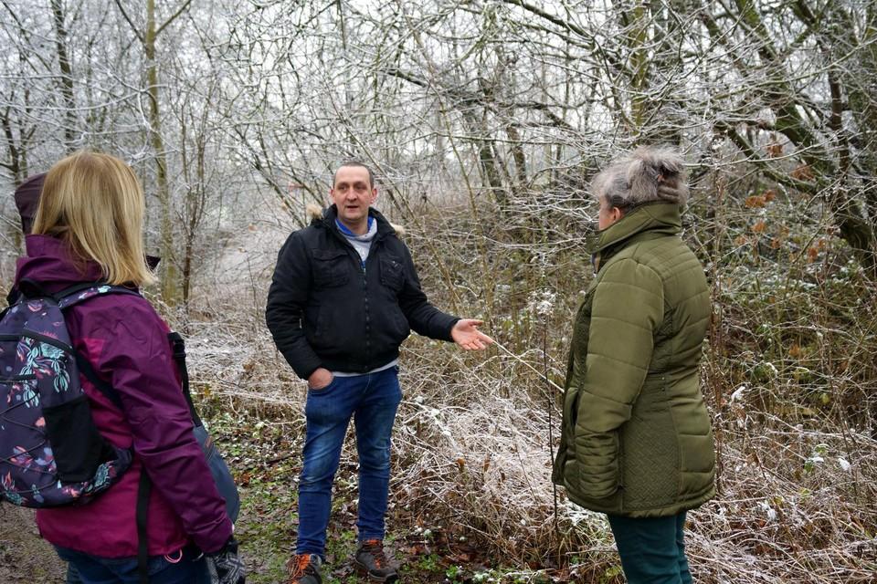 Ruben Jacobs uit Mechelen-Bovelingen wil als 'boskruidenier' de mensen opnieuw voeling geven met de natuur.