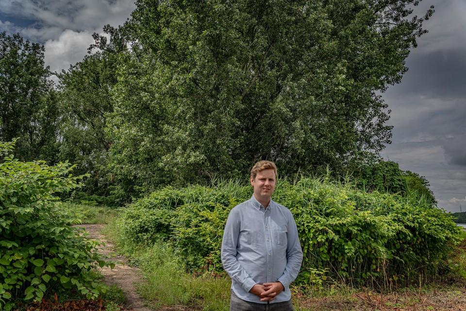 """Kobe Snyers (Groen): """"Te gek om waardevol bos op te offeren voor zonnepanelen."""""""