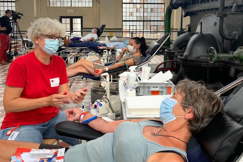 """Rita Saro, één van de bloedgevers: """"dit initiatief heeft mij geïnspireerd om blijven bloed te geven."""""""