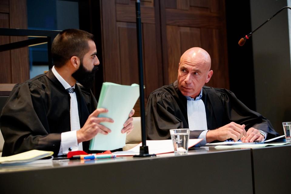 Pol Vandemeulebroucke (rechts) werd ook in beroep veroordeeld.