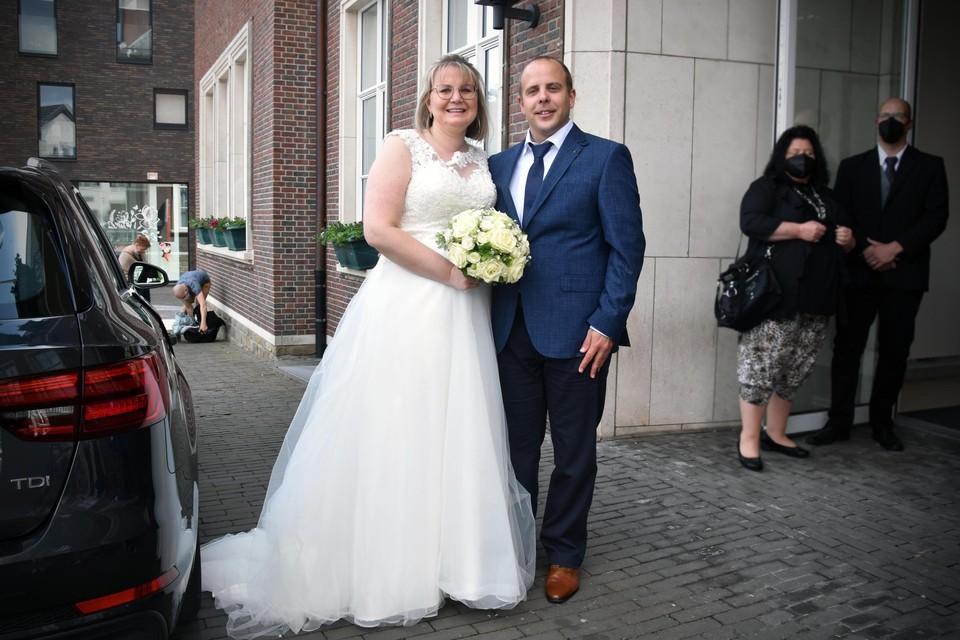 Ann Thys en Roel Smeets.