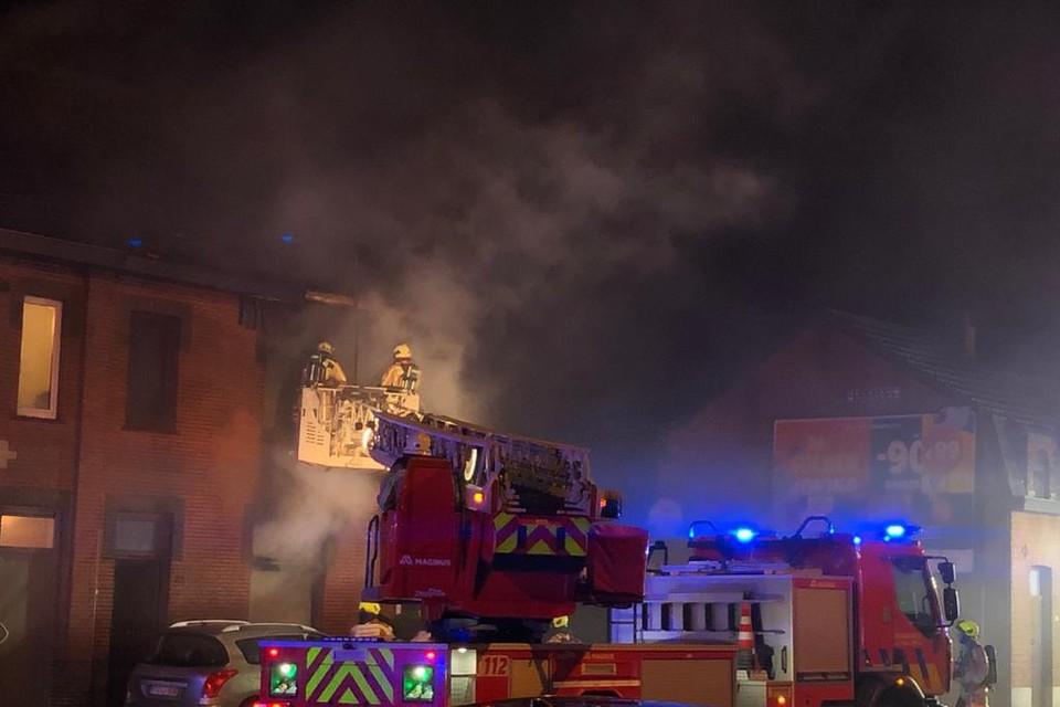 Zware woningbrand in Leopoldsburg: meisje overleden en vader zwaar verbrand.