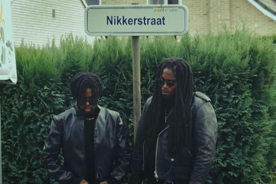 De Nikkerstraat werd bekend door een Nederlandse sketch op YouTube.