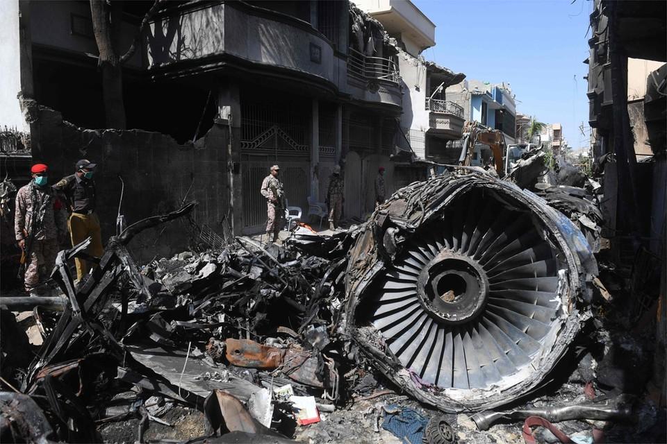 Een Airbus A320 van Pakistan International Airlines stortte vorige maand neer in een woonwijk in de miljoenenstad Karachi.