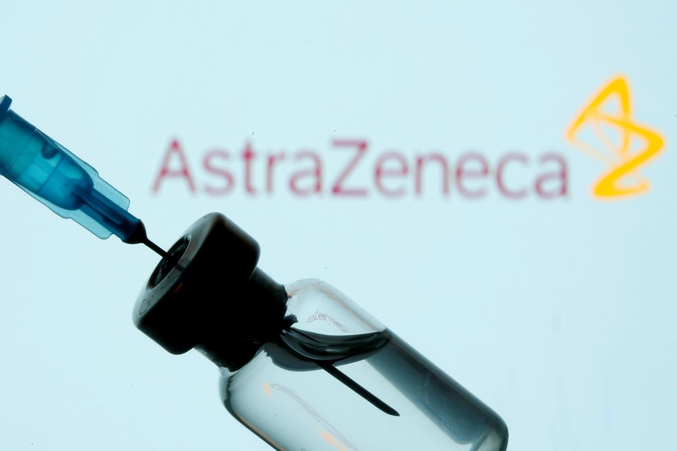 AstraZeneca levert tegen eind maart 40 procent van de beloofde vaccins.