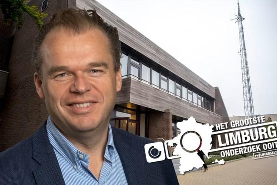 Burgemeester Mark Vos.