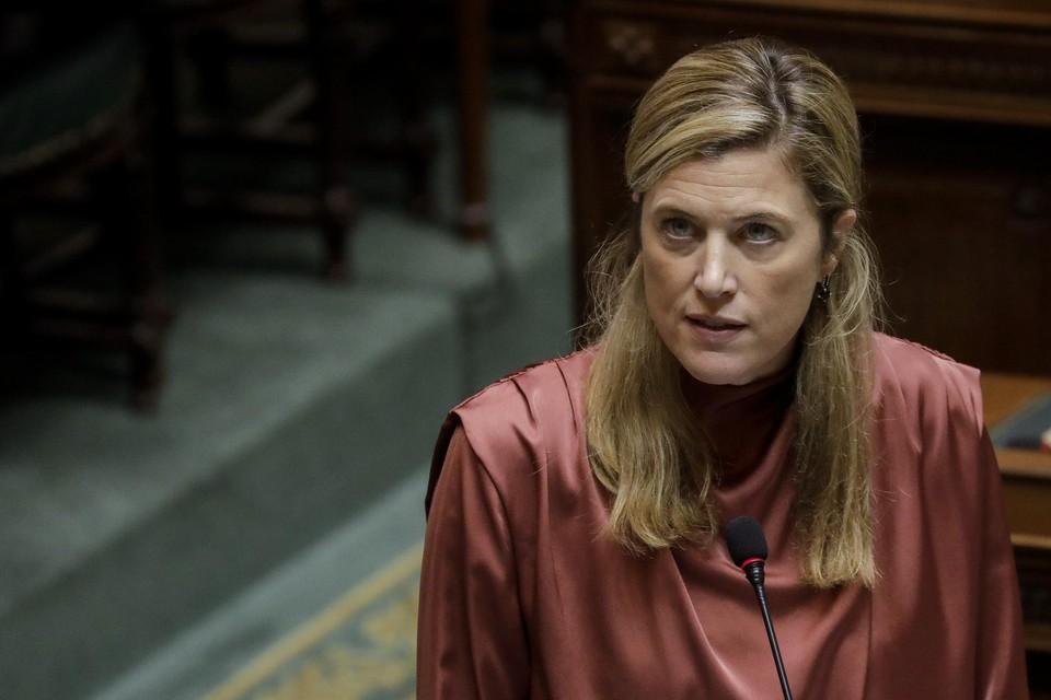 Minister van Binnenlandse Zaken Annelies Verlinden (CD&V)