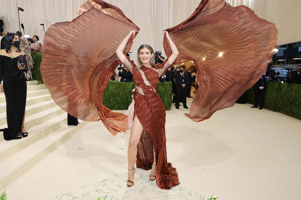 Het Braziliaanse model Valentina Sampaio.