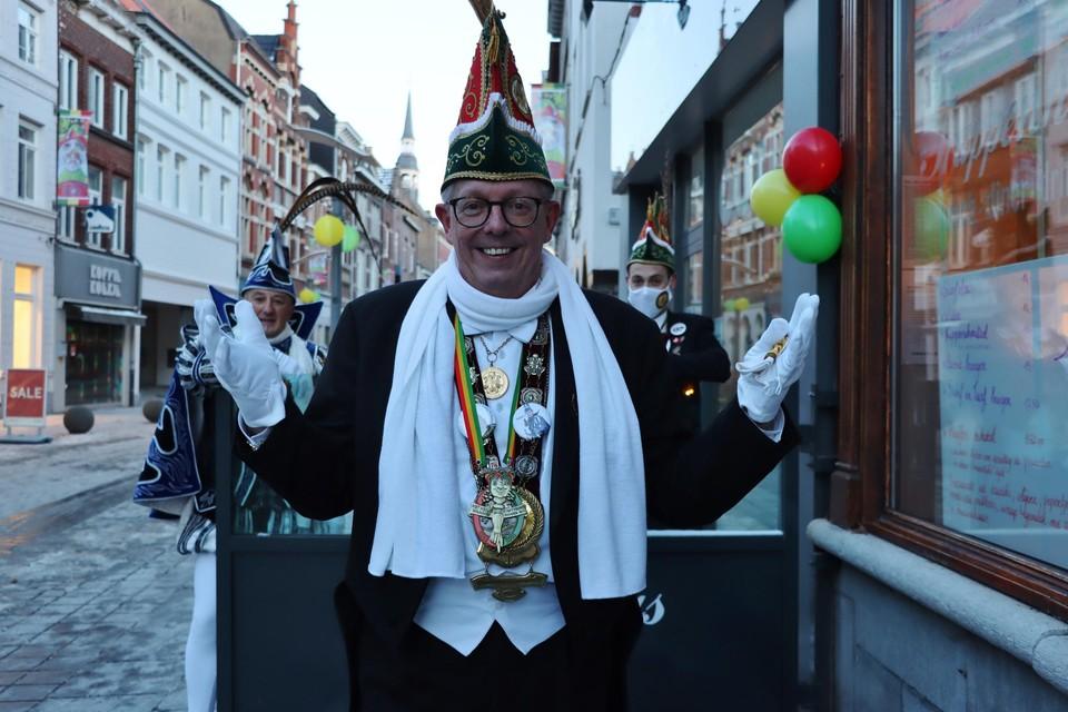 Vorst Eric Opdenakker wenst dit jaar iedereen een beetje carnaval in zijn hart.