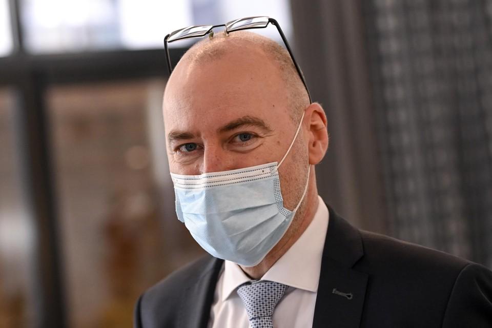 Dirk Ramaekers, het hoofd van de taskforce voor de vaccinatiestrategie, is niet te spreken over de vertragingen