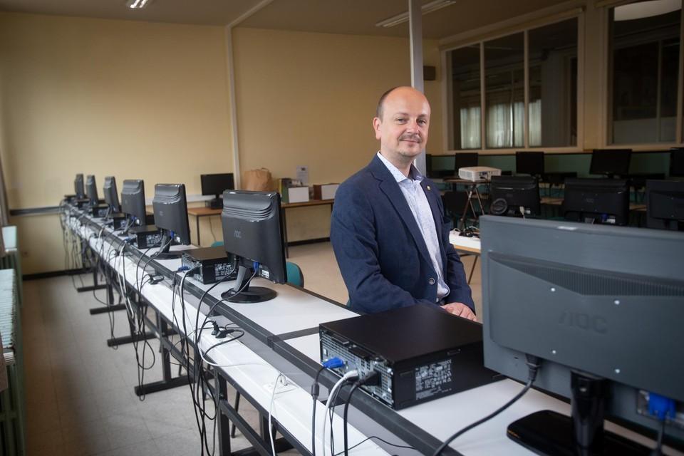Het Spectrumcollege in Lummen is één van de geselecteerde scholen.