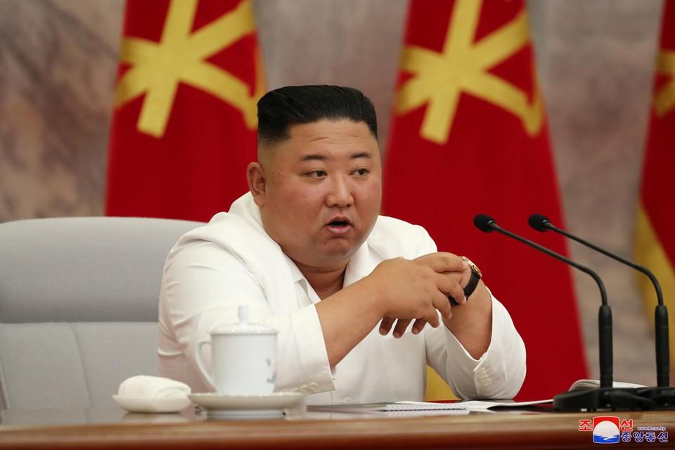 Kim Jong-un drukt de inwoners van zijn land wel op het hart waakzaam te blijven.
