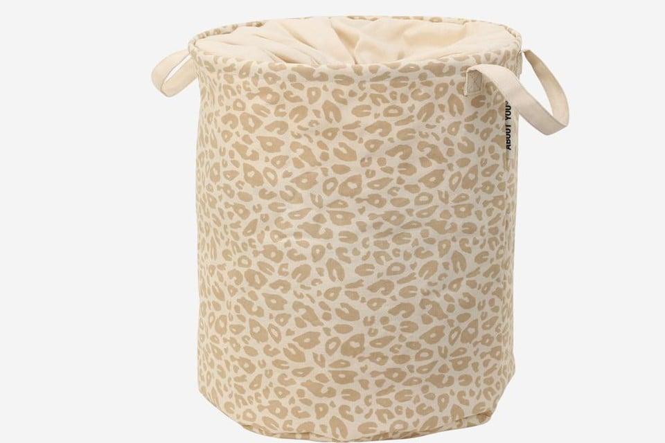 Wasmand met luipaardprint - About You - 7,90 euro