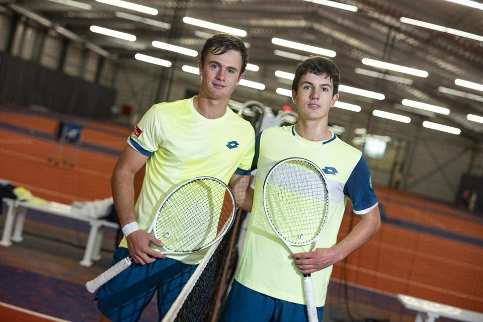 Pierre-Yves Bailly (links) met zijn broer Gilles-Arnaud.