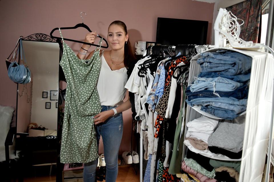 De Truiense Femke Iliaens (17) shopt maandelijks voor 200 tot 300 euro bij Shein.
