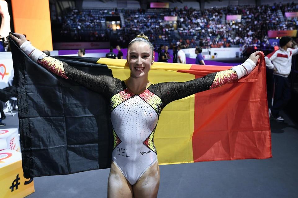 Wereldkampioene Nina Derwael moet tien dagen in quarantaine.