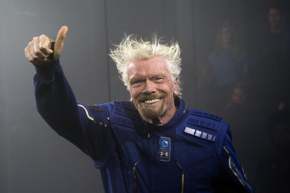 Deze primeur heeft Richard Branson alvast op zak.