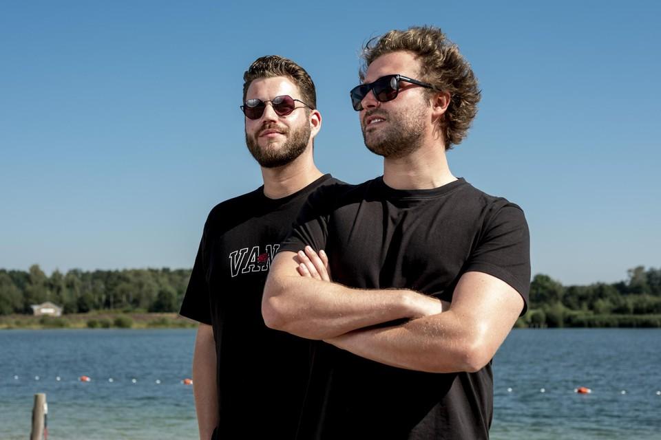 Stijn Vanspauwen en Joris Cielen van Joyhauser. De Bilzenaren zijn volgend weekend headliner op Extrema Outdoor.