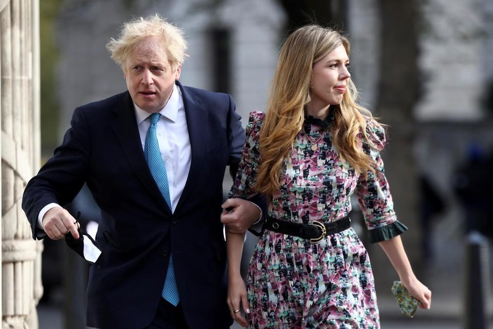Johnson en zijn echtgenote verwachten een tweede kindje.