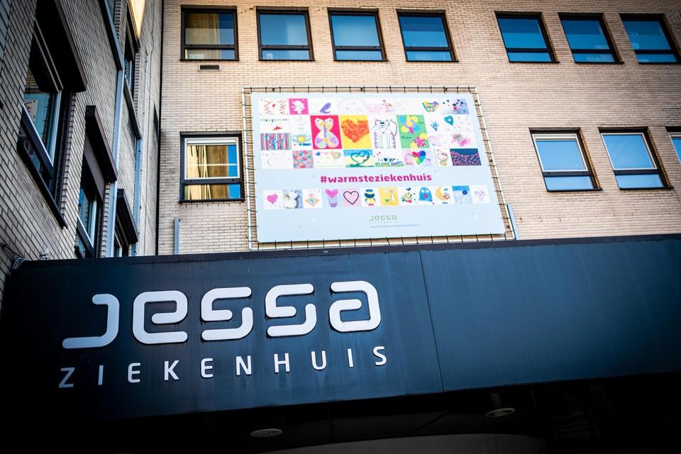 Het Jessa Ziekenhuis in Hasselt is momenteel opnieuw vrij van covidpatiënten.