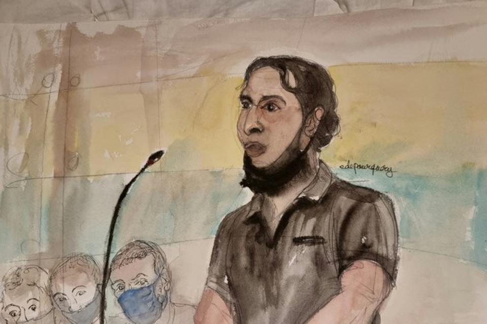 Salah Abdeslam staat deze maanden nog terecht in Frankrijk voor zijn rol in de aanslagen in Parijs.