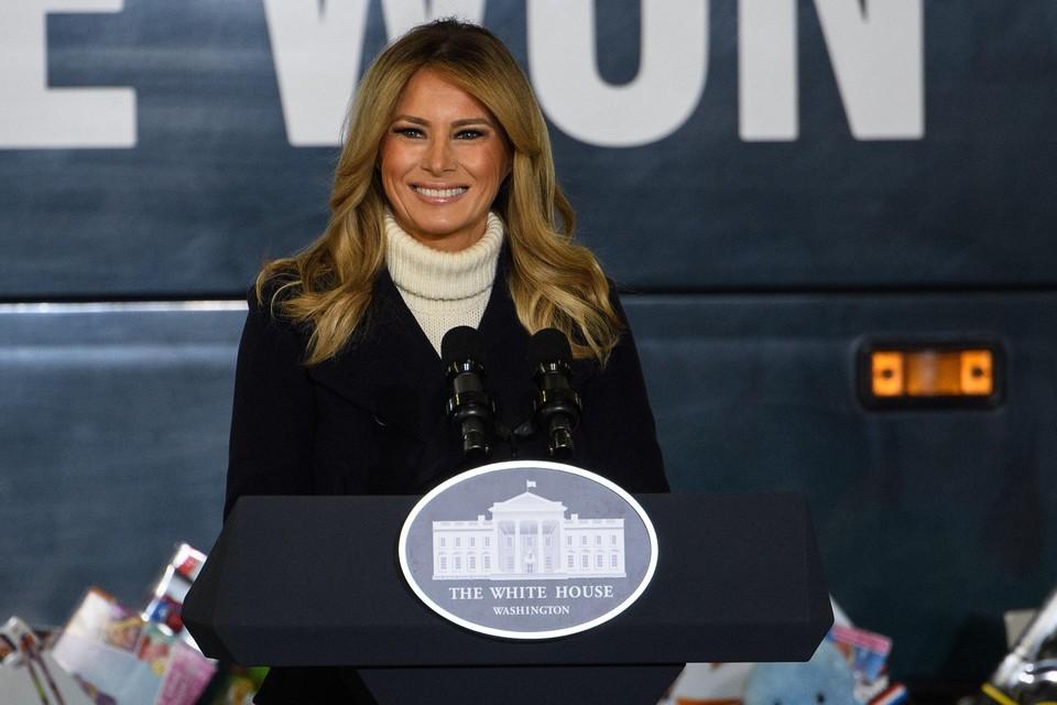 Melania Trump in december 2020.