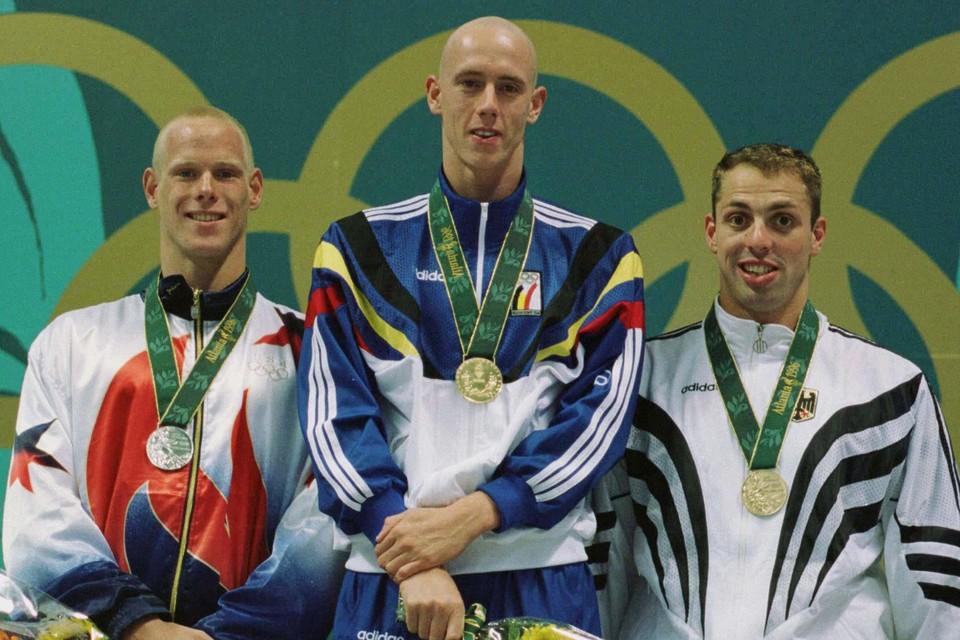 Frederik Deburghgraeve behaalde zijn goud op de Spelen van 1996 in Atlanta.